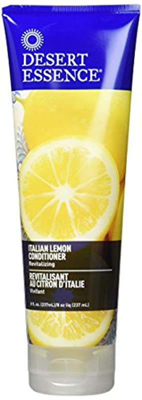 登録する慣らす既婚Conditioner - Italian Lemon - 8 oz by Desert Essence