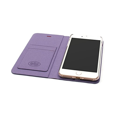 ZENUS iPhone 8 Plus ケース/ iPhone 7 Plus ケース 5.5インチ Diana Diary ピンク 手帳型 アイフォン カバー【日本正規代理店品】