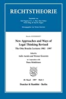 New Approaches and Ways of Legal Thinking Revised.: The Otto Brusiin Lectures 1982-1997. Brusiin((kursiv))-SONDERHEFT. Zeitschrift Rechtstheorie, 28. Band (1997), Heft 2 (S. 141-250).