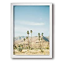 SKYHEART 砂漠 アートポスター アートパイル 壁アート ポスター インテリア装飾品 絵画 モダン アートパネル インテリア 風景画 壁掛け 現代壁の絵 背景絵画 引き越し White
