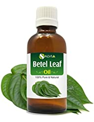 Betel Leaf Oil (Piper betle) 100% Pure & Natural - Undiluted Uncut Therapeutic Grade Essential Oil - 100 ML