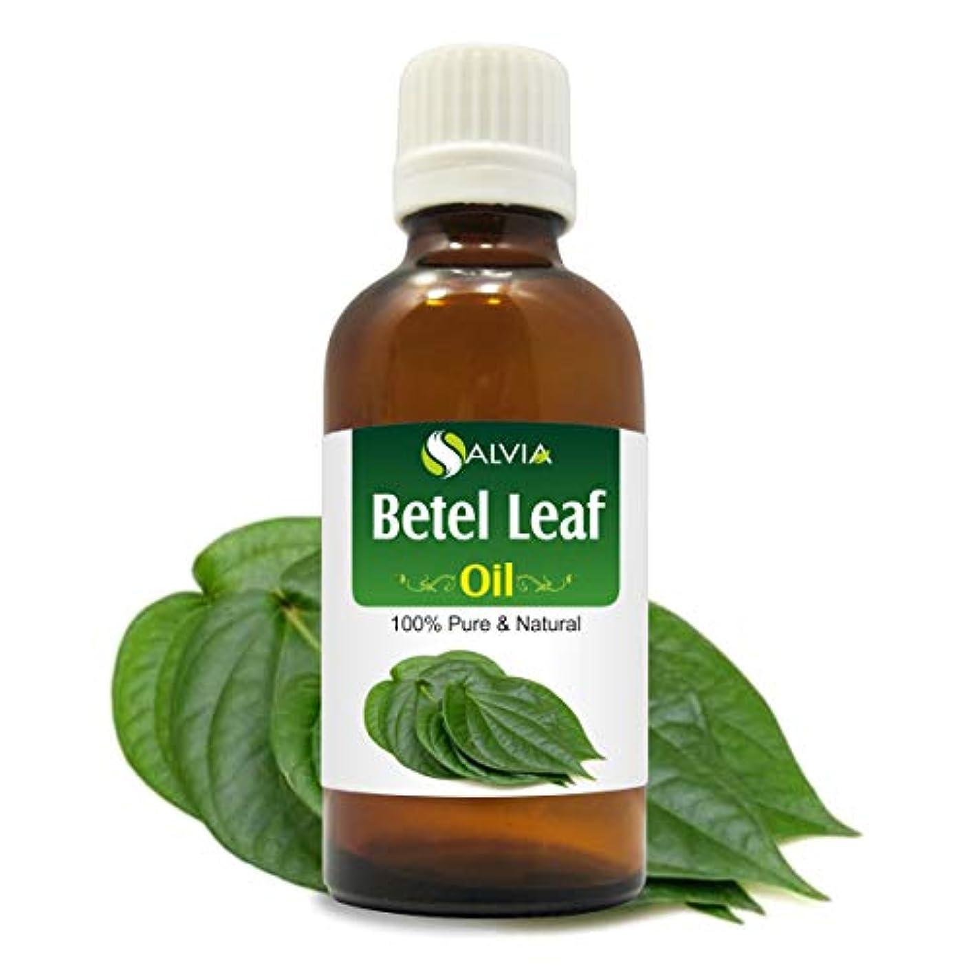 息切れかご人道的Betel Leaf Oil (Piper betle) 100% Pure & Natural - Undiluted Uncut Therapeutic Grade Essential Oil - 100 ML