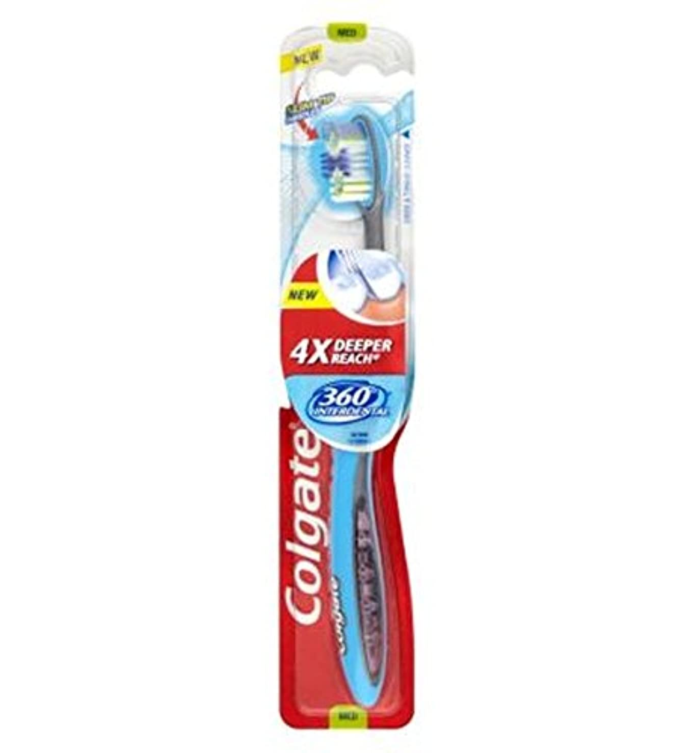 ベール自宅で報酬[Colgate ] コルゲート360°歯間歯ブラシメディア - Colgate 360? Interdental Medium Toothbrush [並行輸入品]