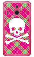 SECOND SKIN スカルパンク ピンク (クリア) / for Disney Mobile on docomo F-03F/docomo DFJF3F-PCCL-201-Y218