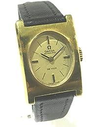 (オメガ) OMEGA DE VILLE デ・ビル レディース腕時計 腕時計 GP/革ベルト レディース 中古