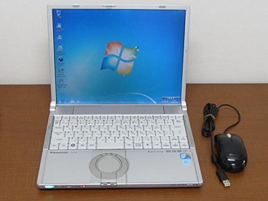 スクワイア台風水銀の【中古】Panasonic Let's note Y9 CF-Y9JWQAPS C2D SU9600(1.6GHz) メモリー4G DVDSM 無線 Win7 リカバ付