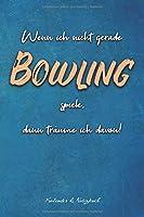 Kalender & Notizbuch: Bowling Kalender fuer das Jahr 2020 und Notizbuch in Einem | 65 Seiten Kalender und 35 Seiten fuer Notizen | Geschenk fuer Bowlingspieler | 6x9 Format (15,24 x 22,86 cm)