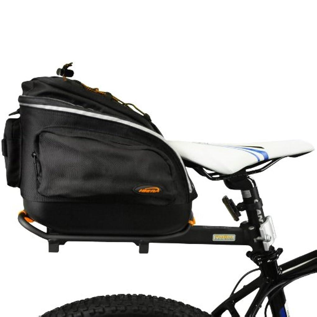 残酷なレイアリアルIbera(イベラ) 自転車用 着脱が容易なミニコミューターバッグ(IB-BA6)とシートポスト取付型のキャリアラック(IB-RA6)のコンボ