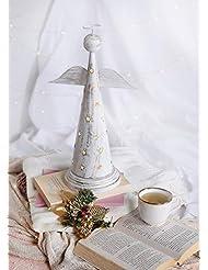 storeindya 感謝祭ギフト 天使の形をした金属製お香塔 クリスマス ホームデコレーション アクセサリーオーナメント 新築祝いのギフトに最適