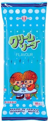 清水製菓 乳酸クリームソーダ 10本×15袋