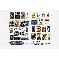 カスタムジオラミックス HO-OO WWII ロシアのイタリア製ポスター #2 ジオラマアクセサリー CD8202