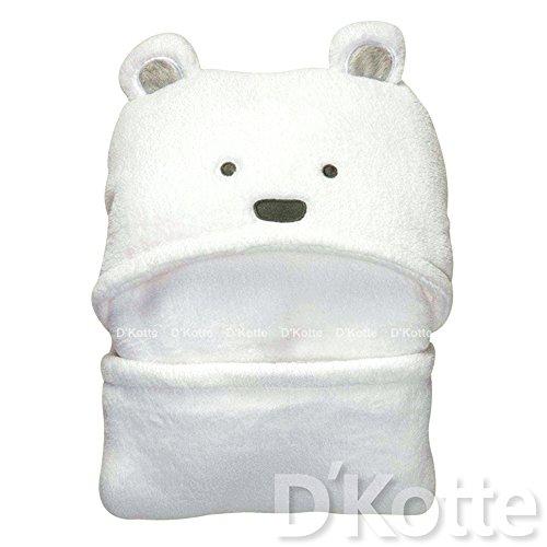 (ディーコッテ) D'Kotte クマさん おくるみ (ホワイト)