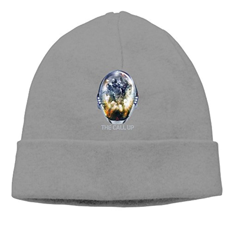 ニット帽 戦闘 バーチャルゲーム ニットキャップ 帽子 男女兼用 薄手 通気性 6色展開 フリーサイズ One Size グレー