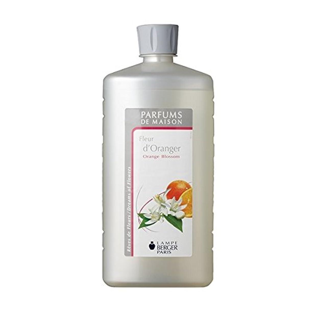 好戦的な耐えられない木ランプベルジェオイル(オレンジブロッサム)Fleur d'oranger / Orange Blossom