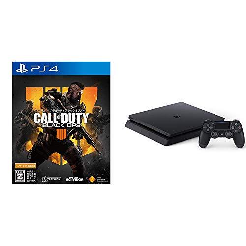 【PS4】コール オブ デューティ ブラックオプス 4【CEROレーティング「Z」】 + PlayStation 4 ジェット・ブラック 500GB セット