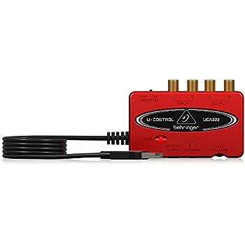 「ベリンガー 2入力2出力 デジタル出力搭載USBオーディオインターフェース UCA222 U-CONTROL」の画像検索結果