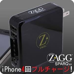ZAGG sparq 2.0 パワフルポータブル充電器