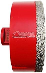 Dry Diamond Drill Bits for Porcelain Tile Wall Tile Stoneware Granite M14 thread 110mm