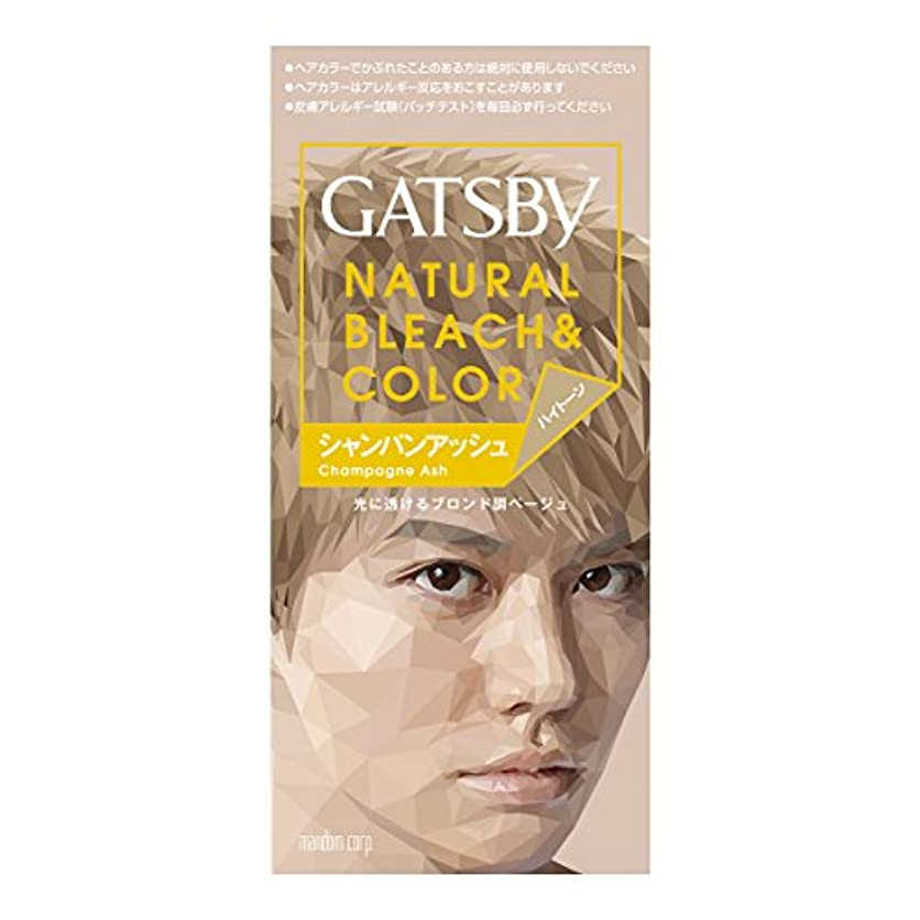 刺繍マウンドデュアルギャツビー ナチュラルブリーチカラー シャンパンアッシュ【HTRC5.1】