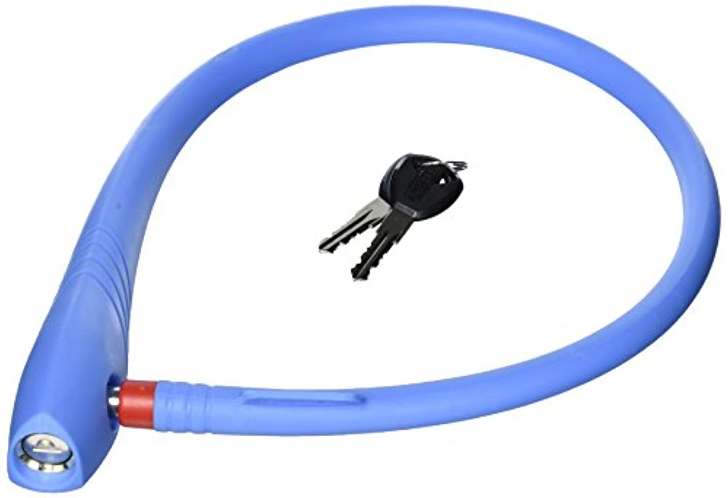 北ファン引き渡すABUS uGrip Cable 560/65 ケーブルロック ブルー