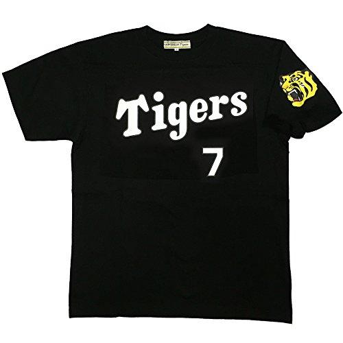 阪神タイガース「糸井 嘉男 背番号Tシャツ 7 」黒 Sサイズ …