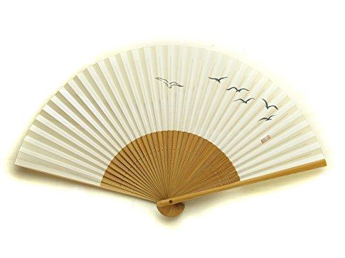 京扇子 かもめ/ 男性用 扇子 日本製