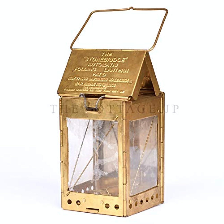 ビヨン一人で異邦人キャンバスケース付 The stonebridge automatic folding candle lantern (ストーンブリッジ オートマチック フォールディング キャンドル ランタン)【正規輸入品】