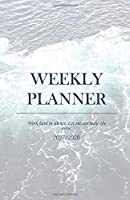 Weekly Planner 2027/2028; Work hard in silence. Let success make the noise.: Student Planner 2027/2028; plan your next steps to reach your Goals, extra 'to-do' and 'important'-boxes, to-do checklist and 4-WEEK-OVERVIEW for the best overview and clean orga