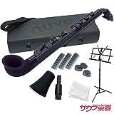 Nuvo ヌーボ プラスチック製 サックス jSAX Black/Black ブラック/ブラック サクラ楽器オリジナルストレートキットセット