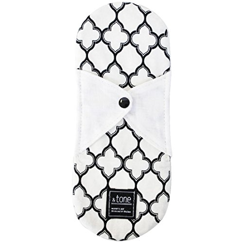 JEWLINGE (ジュランジェ) 布ナプキン [ &tone 一体型Sサイズ/B moroccan ] 生理用品 ナプキン オーガニックコットン (日本製)
