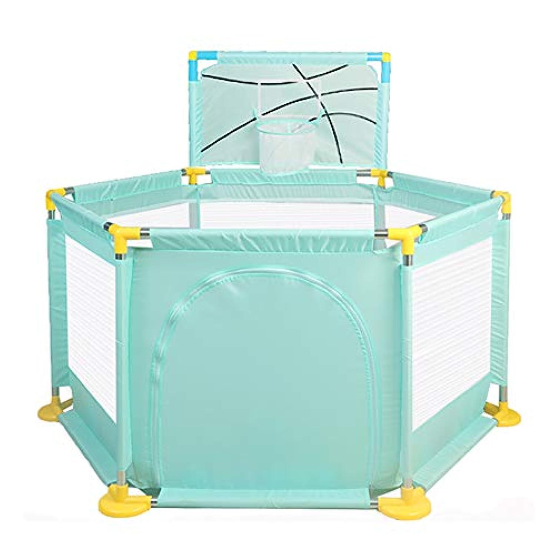 赤ちゃんの遊び場安全な遊び場 - 幼児用アウトドアと屋内ポータブルアンチロールオーバー遊び場