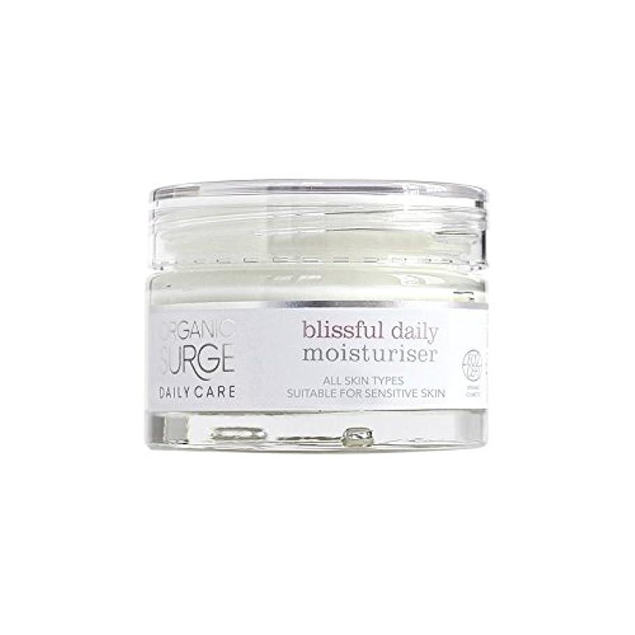 有機サージ毎日のケア至福の毎日の保湿剤(50ミリリットル) x2 - Organic Surge Daily Care Blissful Daily Moisturiser (50ml) (Pack of 2) [並行輸入品]