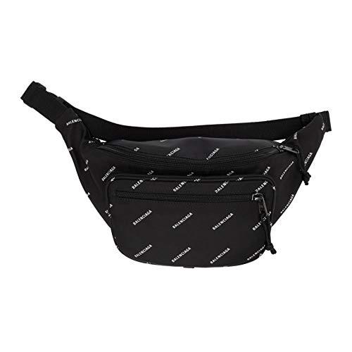 2db74462105e (バレンシアガ) Balenciaga メンズ バッグ ボディバッグ・ウエストポーチ Black Logo Explorer Belt Bag