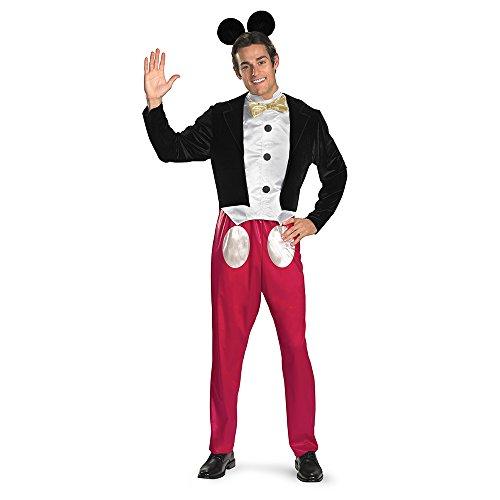 Disney Mickey Mouse Adult Costume ディズニーミッキーマウスの大人用コスチューム♪ハロウィン♪サイズ:X-Large (42-46)