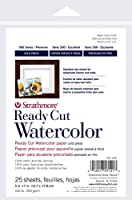 "Strathmore Watercolor Paper 5""X7""-140lb 25 Sheets Cold Pressed (並行輸入品)"