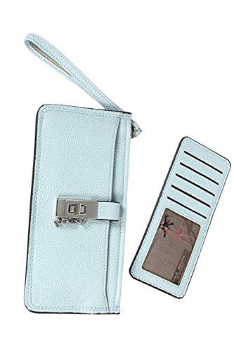 [해외]Amore mare (아모레 마레) 지갑 얇은 슬림 얇은 여성 경량 가벼운 카드 지갑 지퍼 PU 가죽 컴팩트 서브 지갑/Amore mare (amore mare) long wallet thin slim thin ladies light weight light card holder zipper PU leather compact sub wallet