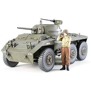 タミヤ 1/35 ミリタリーミニチュアシリーズ No.228 アメリカ軍 アメリカ軽装甲車 M8グレイハウンド プラモデル 35228