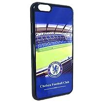 【 Chelsea FC / チェルシー】 iPhone6 / 6 Plus 対応 エンブレム ケース ジャケット (③iPhone6 4.7インチ, スタジアムロゴ)