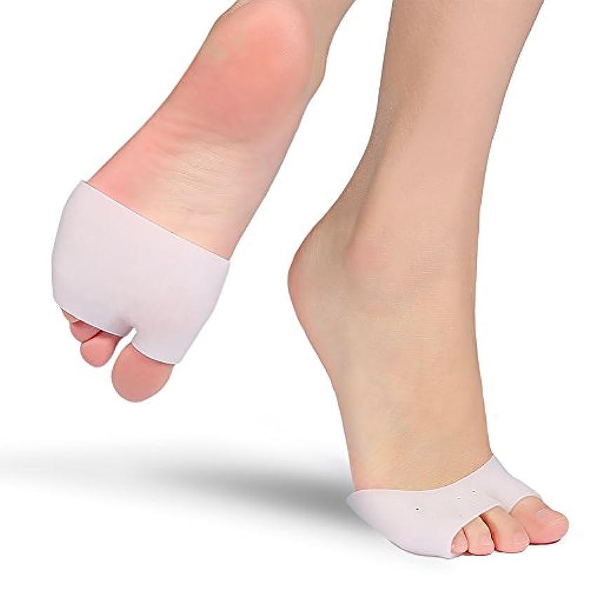 神学校相関する仕出します腱膜矯正パッドゲル2足ボールの前足の足の裏の中足のサポート神経腫の痛みを軽減するためのインソール