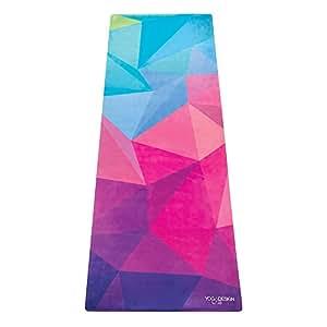 Yoga Design Lab (ヨガデザインラボ)コンボマット 厚さ3.5mmのヨガマット ストラップ付き ゲオ