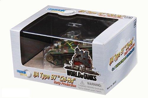 1:72 ドラゴンモデルズ アーマー コレクター シリーズ 60432 三菱 Type 97 Chi-Ha ディスプレイ モデル IJA 34th 装甲車 Rgt #381 Nothern 中国 19