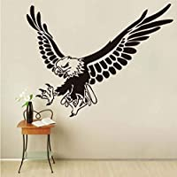 Ljjlm イーグルフライング動物ウォールステッカー用キッズルームの壁の装飾取り外し可能なビニールウォールアートデカール家の装飾アクセサリー44×57センチ