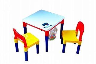 リトルプリンセス ブロックプレイ おえかきテーブル&チェアー