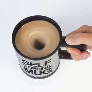 コーヒー を混ぜる必要なし! 自動撹拌 ステンレス マグカップ