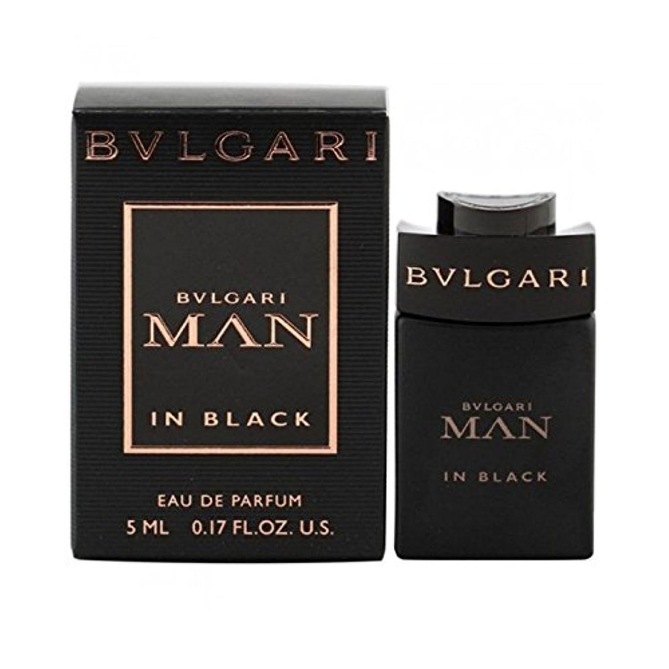 美容師累計悪化するブルガリ BVLGARI ブルガリ マン イン ブラック ミニボトル 5ml EDP オードパルファム