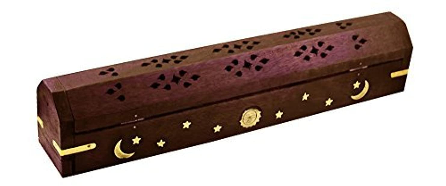 ウィンク詩グレートバリアリーフ1 Celestial Coffin Incense Burner - Violet - 30cm