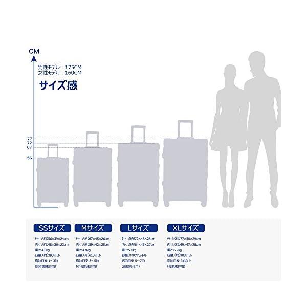 TABITORA(タビトラ) スーツケース メ...の紹介画像6