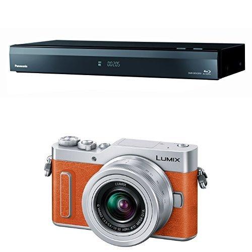 パナソニック 2TB 7チューナー ブルーレイレコーダー 全録 6チャンネル同時録画 4Kアップコンバート対応 全自動 おうちクラウドDIGA DMR-BRX2050 + ミラーレス一眼カメラ ルミックス GF90 セット