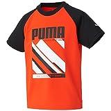 (プーマ)PUMA スポーツ SU 半袖シャツ 837831 [ジュニア] 02 チェリートマト 160