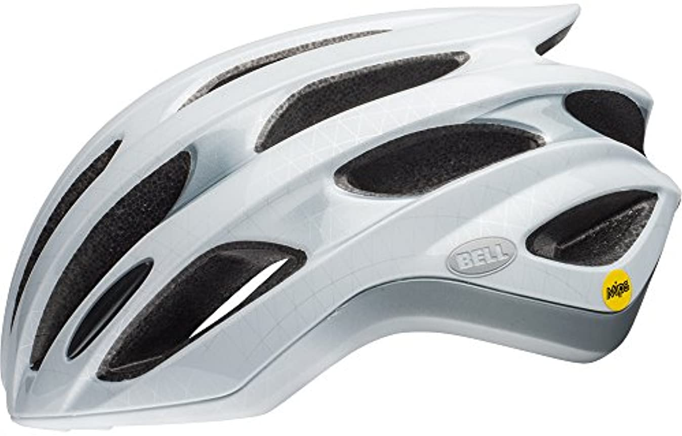 みなさん自信があるアグネスグレイBELL(ベル) ヘルメット フォーミュラ ミップス マットホワイト/シルバー Mサイズ 2019年継続モデル